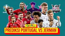 Portugal vs Jerman: Hidup Mati der Panzer di Tangan Ronaldo cs   Battle of Euro