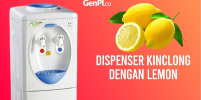 Dispenser Kinclong dengan Air Lemon, Caranya Gampang | Tips
