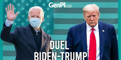Pilpres AS 2020: Donald Trump VS Joe Biden Sikut-sikutan